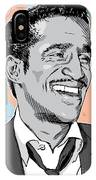 Sammy Davis Jr Pop Art IPhone Case