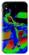 S H In Technicolor 1977 IPhone Case