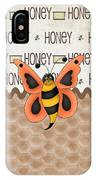 Sammy The Honey Bee IPhone Case