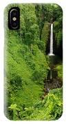 Samoan Waterfall IPhone Case