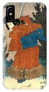 Samurai Actor 1847 R IPhone Case