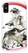 Samurai Enso Bushido Way. IPhone X Case