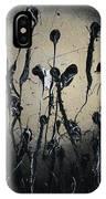 Samurai In The Weeds IPhone Case