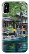 San Antonio Riverwalk Cafe IPhone X Case