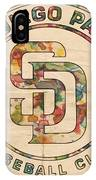 San Diego Padres Logo Art IPhone Case
