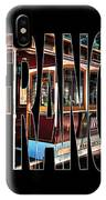San Francisco Cable Car Art IPhone Case