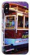 San Francisco Cable Car No. 17 IPhone Case
