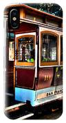 San Francisco Cable Car Painting IPhone Case