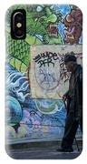 San Francisco Chinatown Street Art IPhone Case