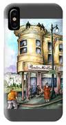 San Francisco North Beach - Watercolor Art IPhone Case