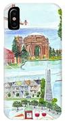 San Francisco Highlights Montage IPhone Case