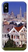 San Francisco Skyline From Alamo Square IPhone Case