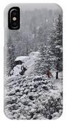 San Jacinto December Wilderness IPhone Case
