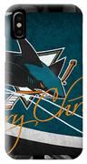San Jose Sharks Christmas IPhone Case