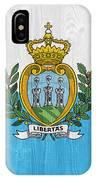 San Marino Flag IPhone Case