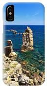 San Pietro Island - Le Colonne Cliff IPhone Case