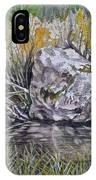 San Poil River Rock IPhone Case