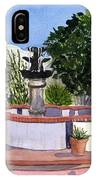 San Xavier Courtyard IPhone Case