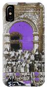 San Xavier Del Bac Church Collage Tucson Arizona C.1885-2012 IPhone Case