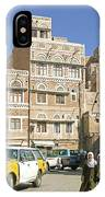 Sanaa Old Town In Yemen IPhone Case