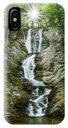 Waterfall - Sanctuary At Savoy Mountain IPhone Case