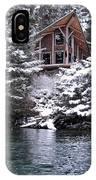 Sanctuary In Winter IPhone Case