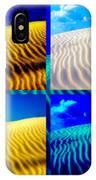 Sand Dunes Collage IPhone Case