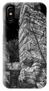 Sandstone Arch Jerome Black And White IPhone Case