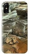Sandstone Falls IPhone Case
