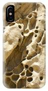 Sandstone Rock Formation Two At Big Sur  IPhone Case