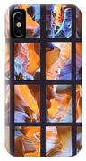 Sandstone Sunsongs Blues Photo Assemblage IPhone Case