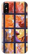 Sandstone Sunsongs Golden Oldies Photo Assemblage IPhone Case