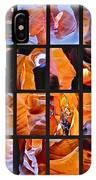 Sandstone Sunsongs Shuffle Assemblage IPhone Case
