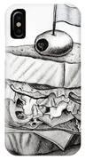 Sandwich IPhone Case