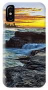 Sandy Beach Sunrise IPhone Case