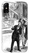 Sanger's Circus, 1884 IPhone Case
