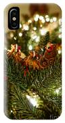 Santa And Sleigh IPhone Case
