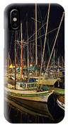 Santa Barbata Harbor Color IPhone Case