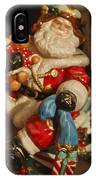 Santa Claus - Antique Ornament -05 IPhone Case