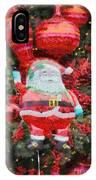 Santa Claus Balloon IPhone Case