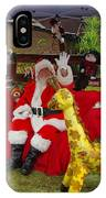 Santa Clausewith The Animals IPhone Case