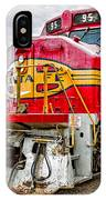 Santa Fe 95 In Retirement IPhone Case