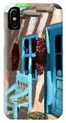 Santa Fe Courtyard IPhone X Case