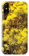 Santa Fe Yellow IPhone Case