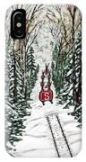 Santa Flying To Your House IPhone Case