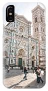 Santa Maria Del Fiore - Florence IPhone Case