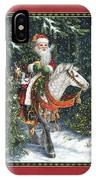 Santa Of The Northern Forest IPhone Case