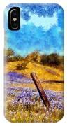Santa Rosa Field IPhone Case