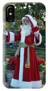 Santa Walt Disney World IPhone Case