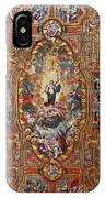 Santarem Cathedral Painted Ceiling IPhone Case